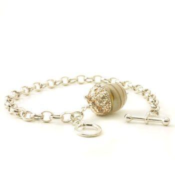 Acorn Charm Bracelet