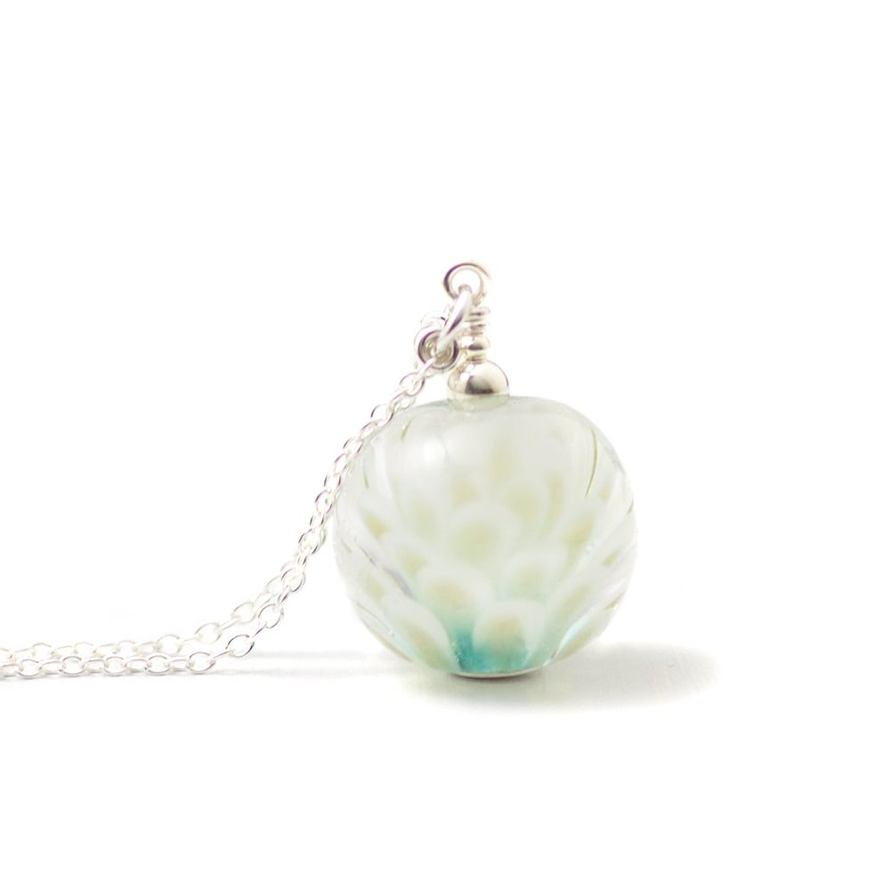 WS Petal Collection Long Globe Necklace