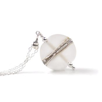 (WS) Silvered Collection Pendant