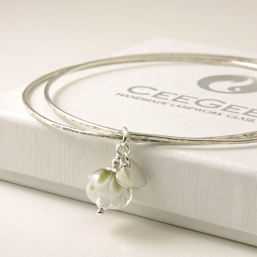 (WS) Petal Collection Charm Bangle