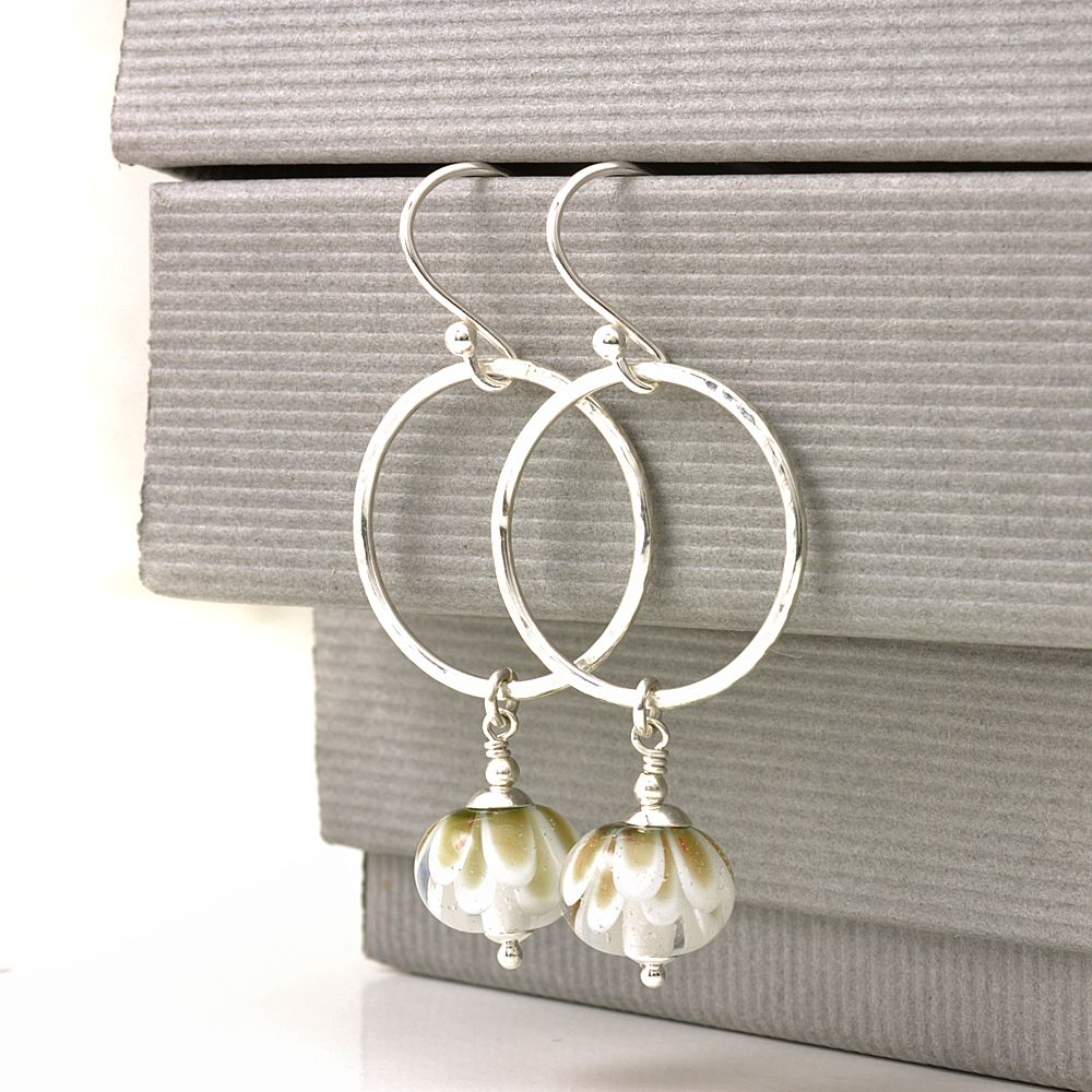 (WS) Petal Collection Hoop Earrings