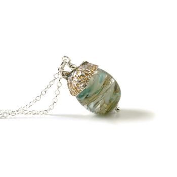 Acorn Necklace - Water