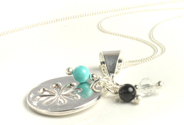 N120203a_Sterling_Silver_and_Gemstone_Daisy_Necklace