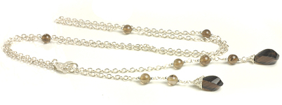 N908002p_Smokey_Quartz_and_Sterling_Silver_Lariat