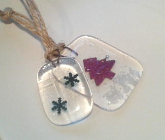 Handmade Glass Decorations