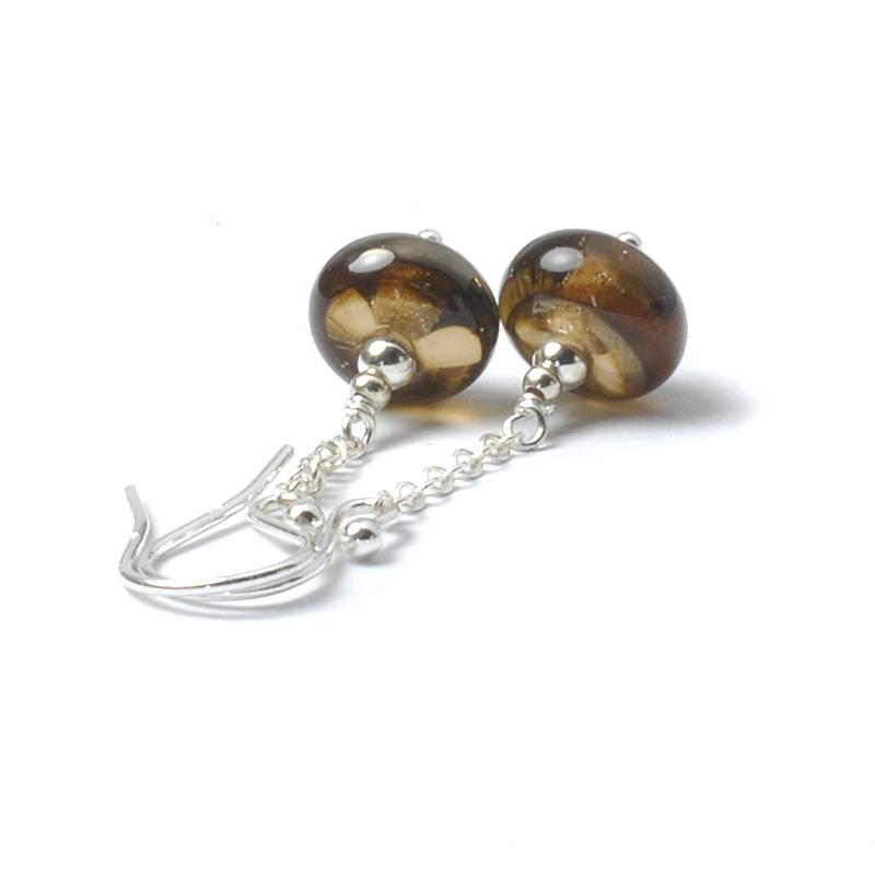 Sepia Chain Earrings