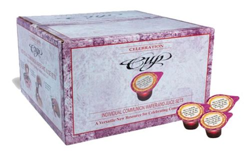 Celebration Cup Prefilled Juice/Wafer-Box 250 (Pkg-250)