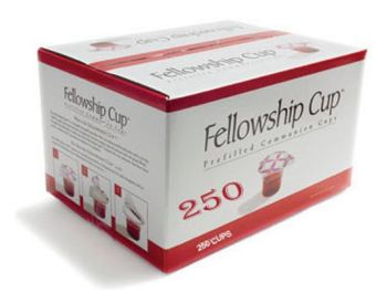 Fellowship Cup Prefilled Juice/Wafer-Box of 250 (Pkg-250)