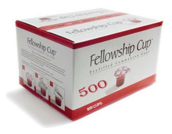 Fellowship Cup Prefilled Juice/Wafer-Box of 500 (Pkg-500)