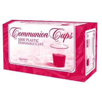 "Communion Cup Disposable 1.38"" RW77 (Pkg-1000)"
