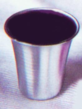 "Stainless Steel Communion Cups 1.25"" CTSS15 (Pkg-12)"