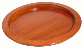 "Wooden Communion Bread Plate 9"" OBP01"