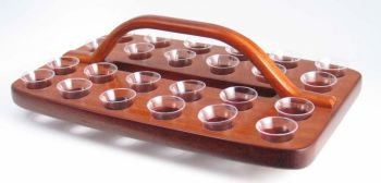 Wooden Communion Tray GLT04 (Serves 24)