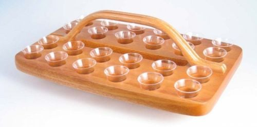 Wooden Communion Tray GLT04N (Serves 24)