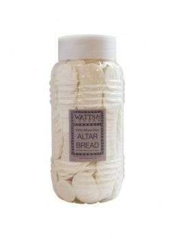 Premium 35mm White Altar Wafers (Jar of 1,000)