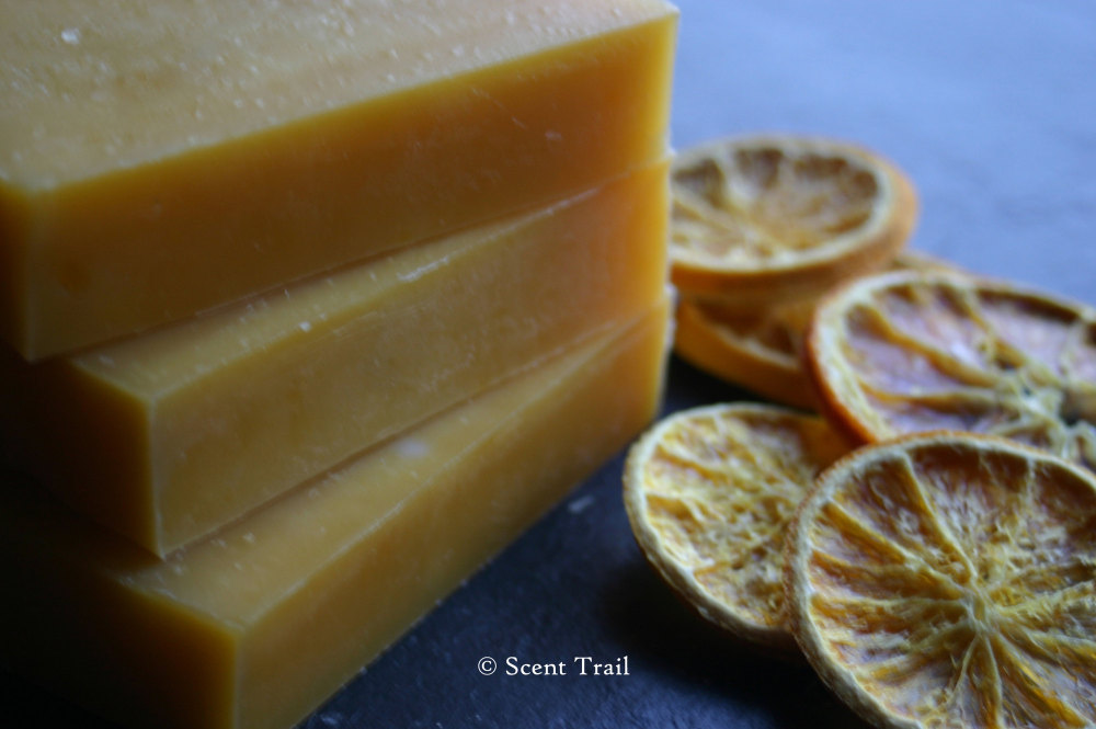 Orange and Pettigrain Shea Butter Soap