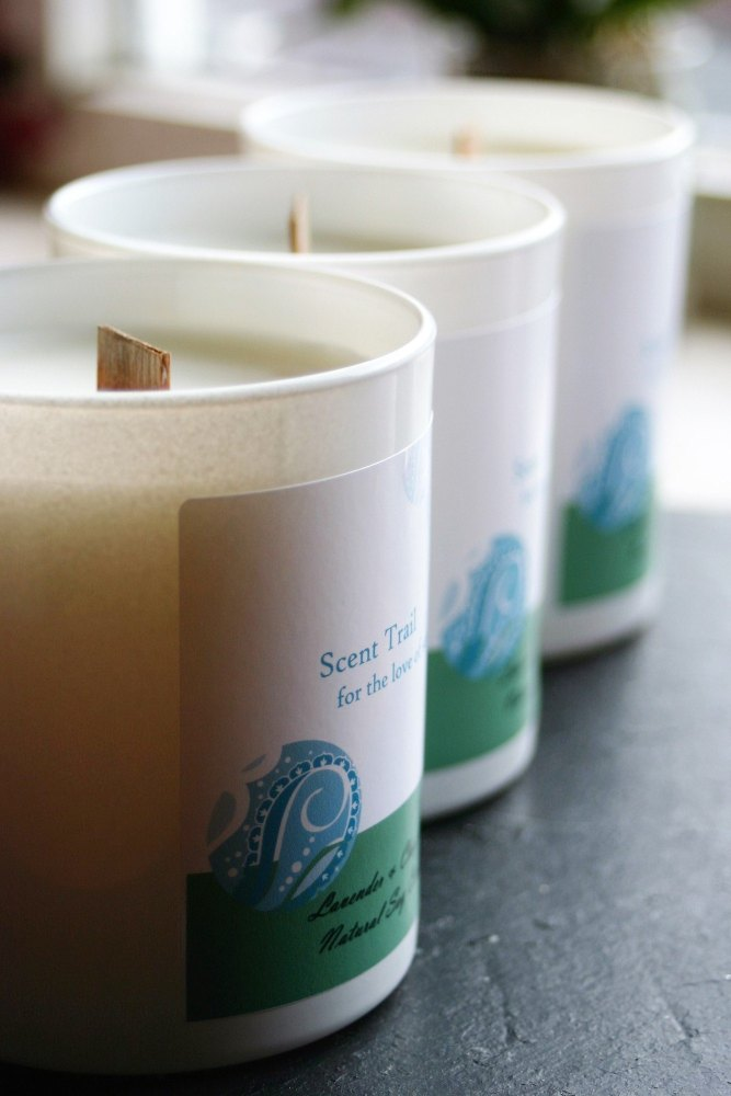 Lavender and Clary Sage Soy Wax Tumbler