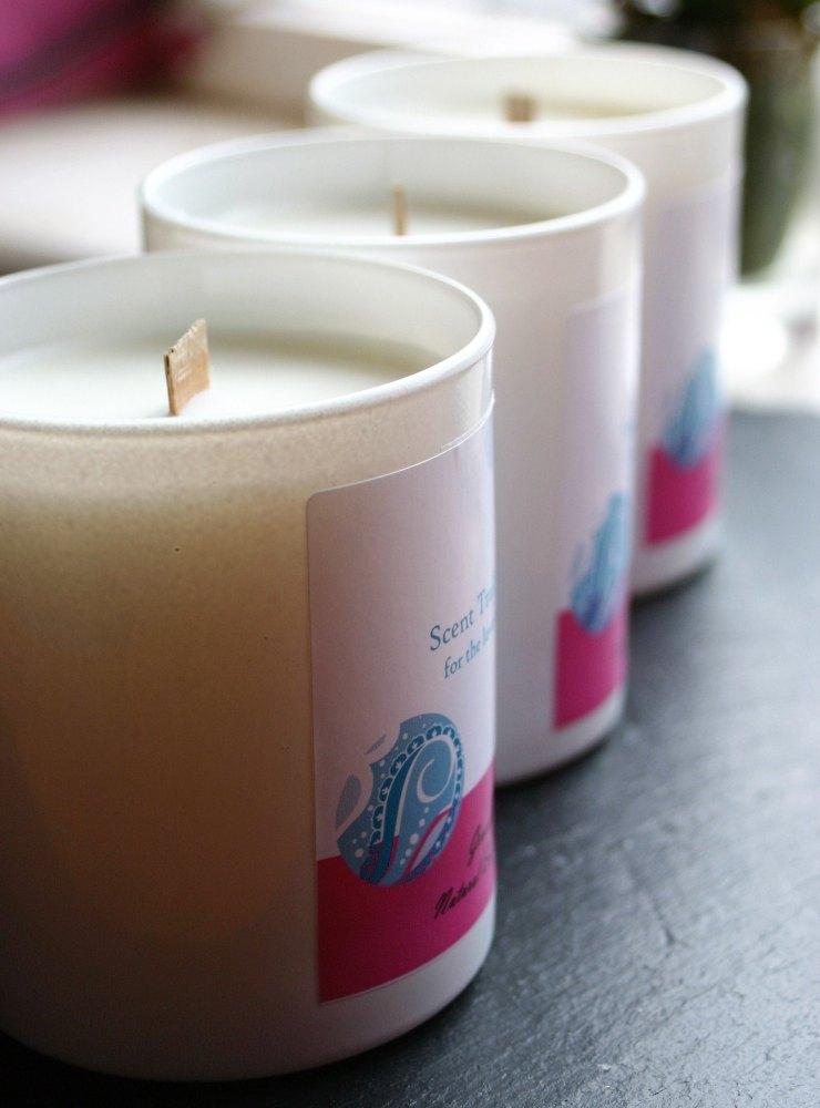 Geranium Soy Wax Tumbler Candle