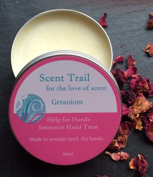 Help for Hands Geranium Intensive Hand Treat