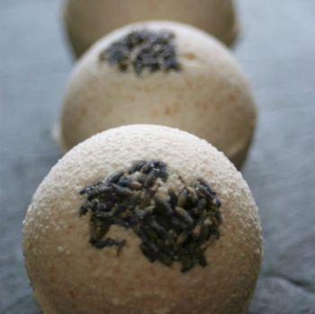 Lavender and Patchouli Bath Bomb