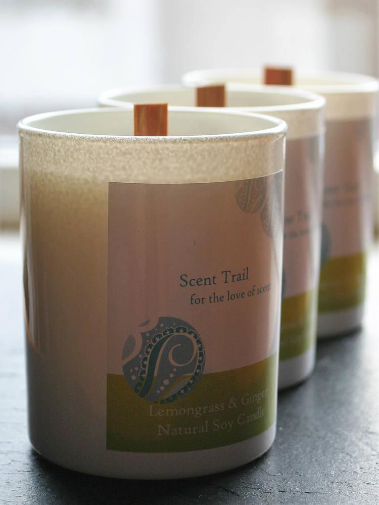Natural Rapeseed Tumbler Candles