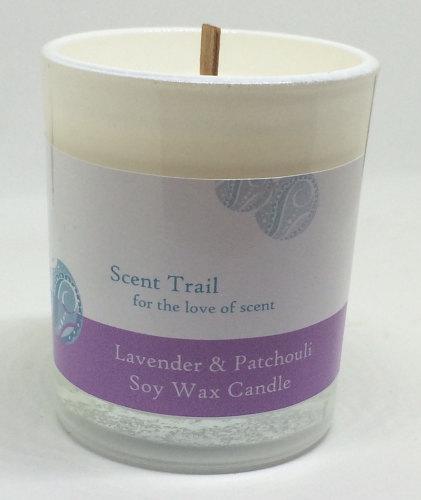 Lavender and Patchouli Votive Candle
