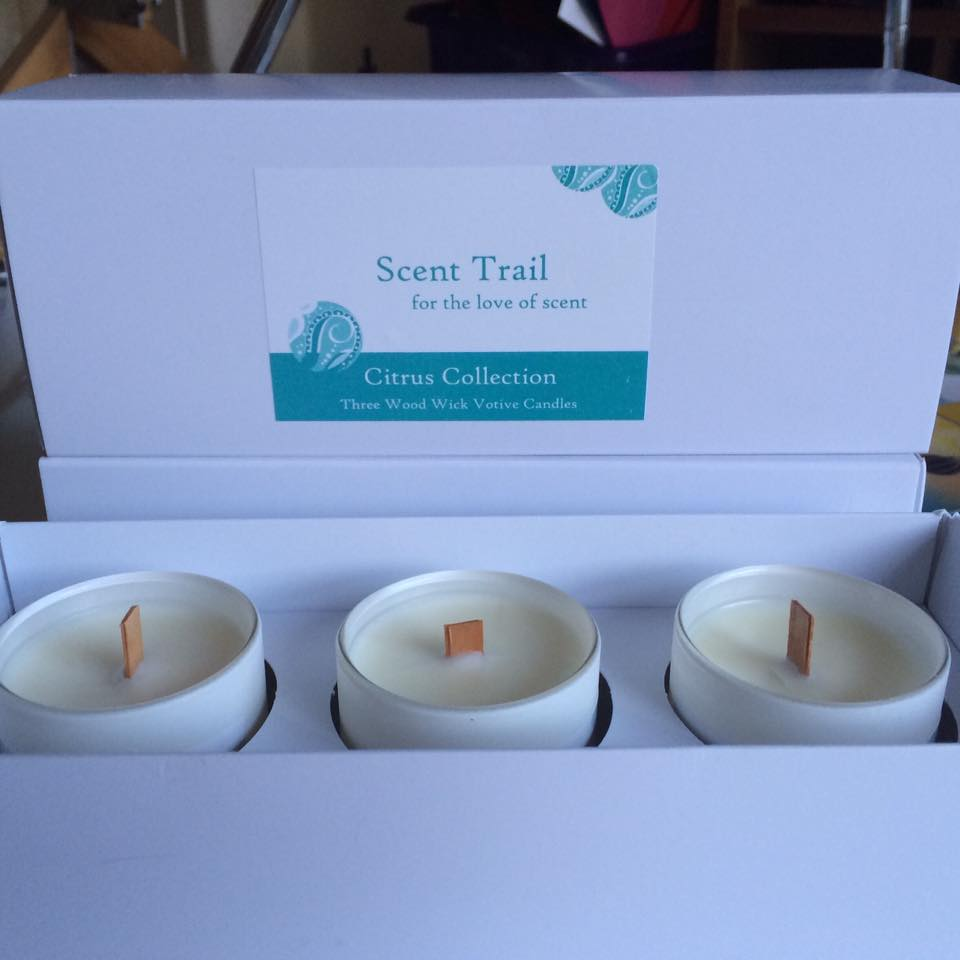 Triple Votive Gift Box