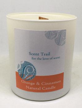 Orange and Cinnamon Rapeseed Tumbler Candle