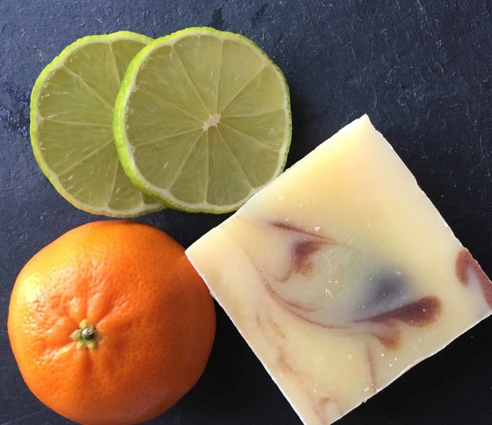 Mandarin and Lime Shea Butter Soap