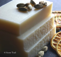 Orange and Cardamom Shea Butter Soap