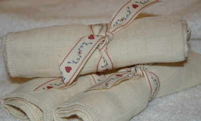 Organic Muslin Face Cloth