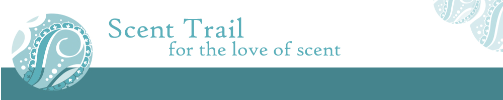 www.scent-trail.co.uk, site logo.