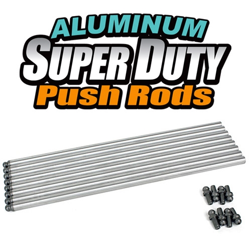 Aluminum Super Duty Push Rods (11.250