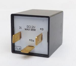 12v Flasher Relay - 3 Pin