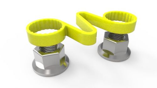 Wheel Nut / Bolt Retaining Clamps Set