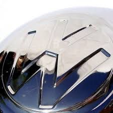 Large Logo Stainless Steel Hub Cap