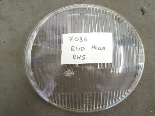 HELLA Split Bus Headlight Glass