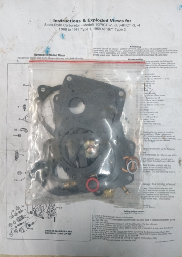Carb' Rebuild Kit