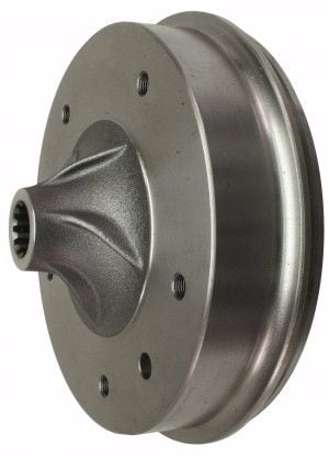Brake Drums (pair) - Rear