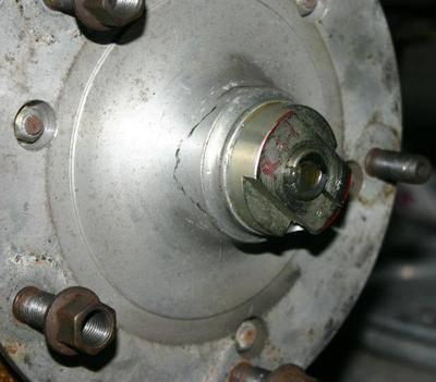 Front Hub Lock Nuts T2 55-63