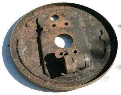 Backing plate - T2 '63 - '68