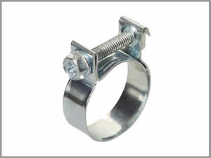 Fuel Line Screw Clamp - 5mm Bore Hose