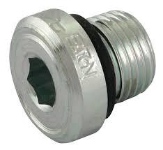 Blanking plug & seal - 1/8