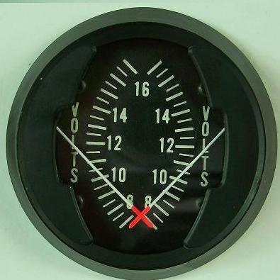 Dual Voltmeter Gauge