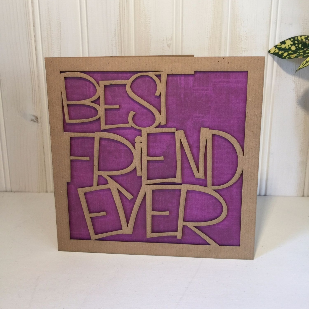 Best Friend Ever card