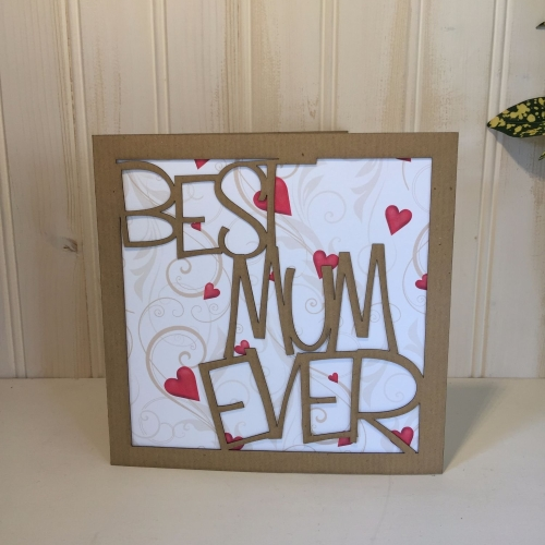 Best Mum Ever card