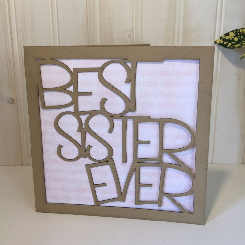 Best Sister Ever card