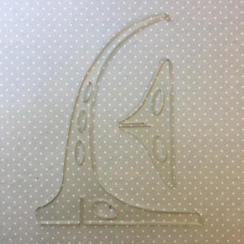 Acrylic beading stand