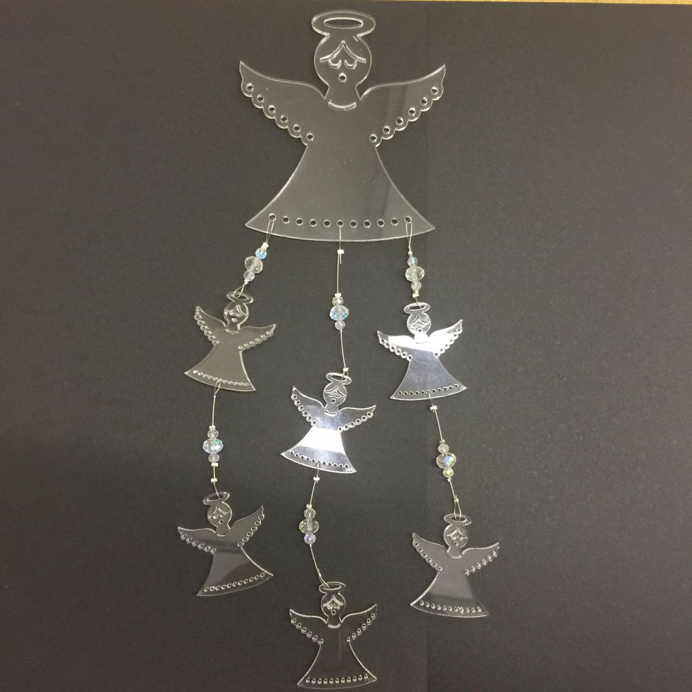 Angel acrylic mobile