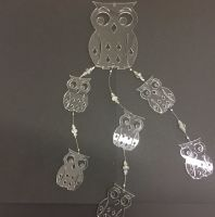 Perspex and crystal Owl mobile kit